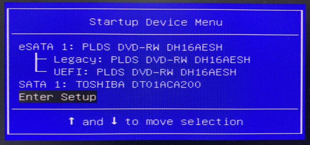 lenovo h520s F12 BIOS