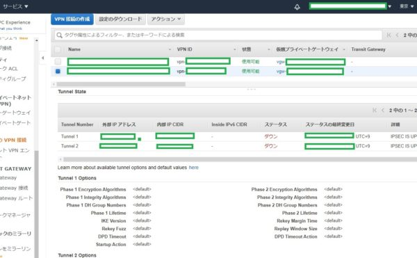 AWS SiteToSite VPN
